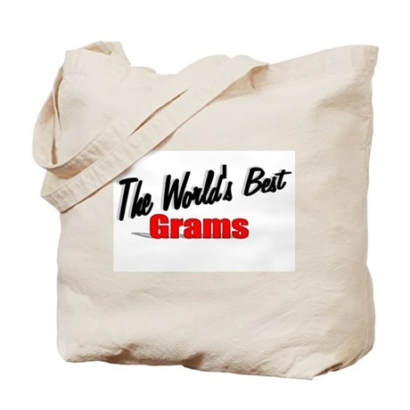 """The World's Best Grams"" Tote Bag"