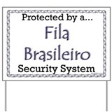 Fila Security Yard Sign