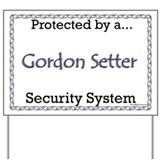 Gordon Security  Yard Sign