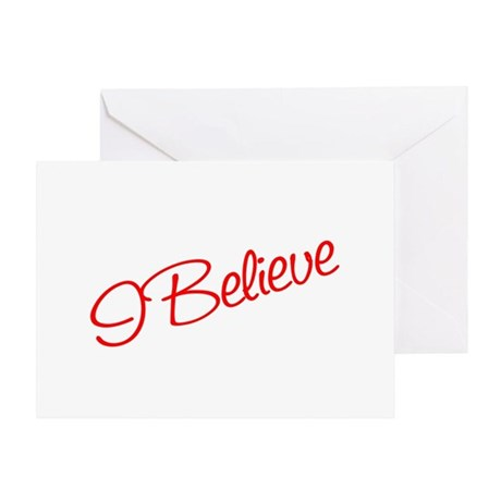 I believe Greeting Card