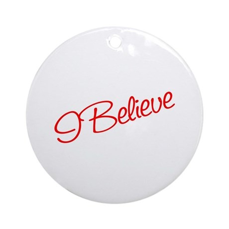 I believe Ornament (Round)