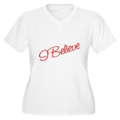 I believe Women's Plus Size V-Neck T-Shirt
