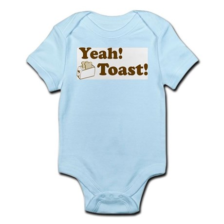 Yeah! Toast! Infant Creeper