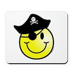 Smiley Pirate Mousepad
