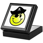 Smiley Pirate Keepsake Box