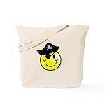 Smiley Pirate Tote Bag