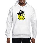 Smiley Pirate Hooded Sweatshirt