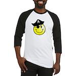 Smiley Pirate Baseball Jersey