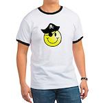 Smiley Pirate Ringer T