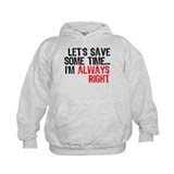 Save Time Hoody