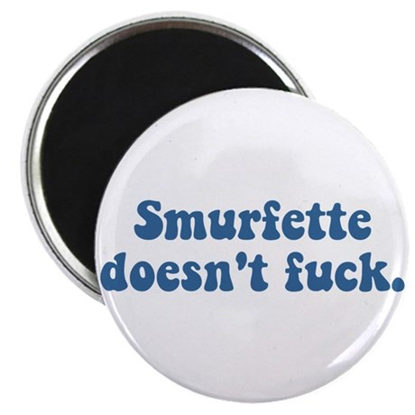 Smurfette doesn't fuck Magnet
