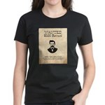 Doc Holliday Wanted Women's Dark T-Shirt