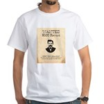 Doc Holliday Wanted White T-Shirt