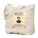 Doc Holliday Wanted Tote Bag