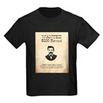 Doc Holliday Wanted Kids Dark T-Shirt