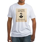 Doc Holliday Wanted Fitted T-Shirt