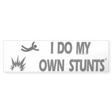 Bomb Explosion, My Own Stunts Bumper Bumper Sticker