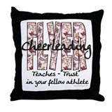 Cheer Flyer Multi Floral Throw Pillow