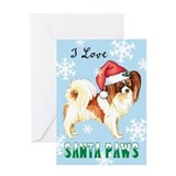 Holiday Papillon Greeting Card