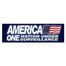 AMERICA - ONE NATION UNDER Bumper Bumper Sticker