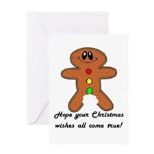Christmas Wishes Greeting Card