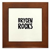 Brycen   Rocks Framed Tile