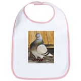 Barred Flight Pigeon Bib