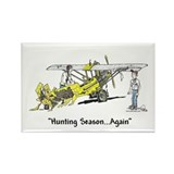 Hunting Season Rectangle Magnet