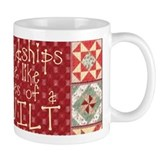 Friendships are Like Quilts Small Mug