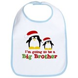 penguin big brother surprise Bib