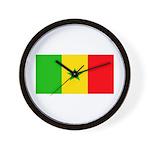 Senegal Blank Flag Wall Clock