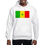Senegal Blank Flag Hooded Sweatshirt