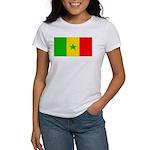 Senegal Blank Flag Women's T-Shirt
