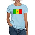 Senegal Blank Flag Women's Light T-Shirt
