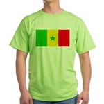 Senegal Blank Flag Green T-Shirt
