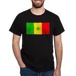 Senegal Blank Flag Dark T-Shirt