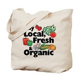 Buy Local Fresh & Organic Tote Bag