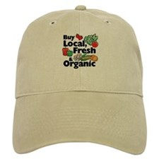Buy Local Fresh & Organic Baseball Cap
