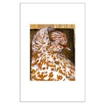 Teager Cap Pigeon Large Poster