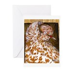 Teager Cap Pigeon Greeting Cards (Pk of 10)