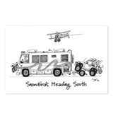 Snowbirds Postcards (Package of 8)