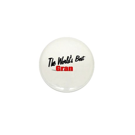 """The World's Best Gran"" Mini Button"