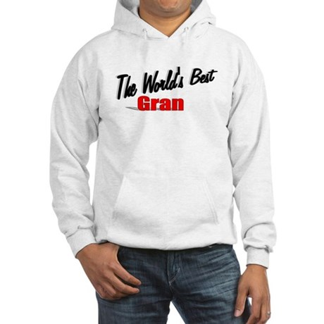 """The World's Best Gran"" Hooded Sweatshirt"