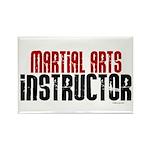 Martial Arts Instructor 2 Rectangle Magnet