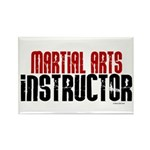 Martial Arts Instructor 2 Rectangle Magnet (100 pa