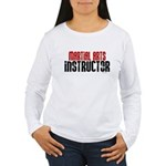 Martial Arts Instructor 2 Women's Long Sleeve T-Sh