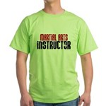 Martial Arts Instructor 2 Green T-Shirt