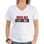Martial Arts Instructor 2 Women's V-Neck T-Shirt