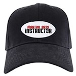 Martial Arts Instructor 2 Black Cap
