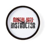 Martial Arts Instructor 2 Wall Clock